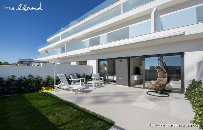 Luxury Apartments With Private Garden And Panoramic Sea Views In Benidorm