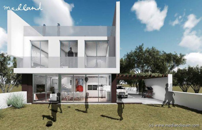 Chalet con piscina privada y s tano en benidorm for Piscina 5x3 fuori terra