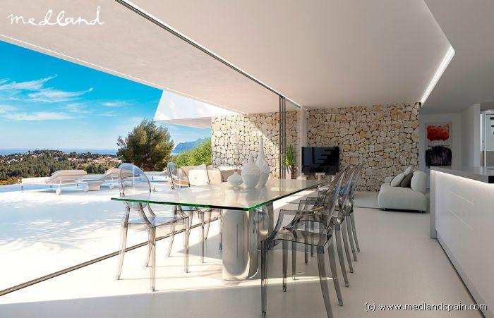 Luksus Villa med 4 soveværelser, privat pool og kælder i Moraira