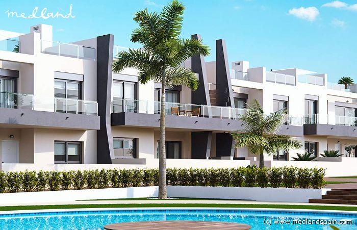 Apartamento con jard n a 300 metros del mar en pilar de la for Apartamentos jardines del mar