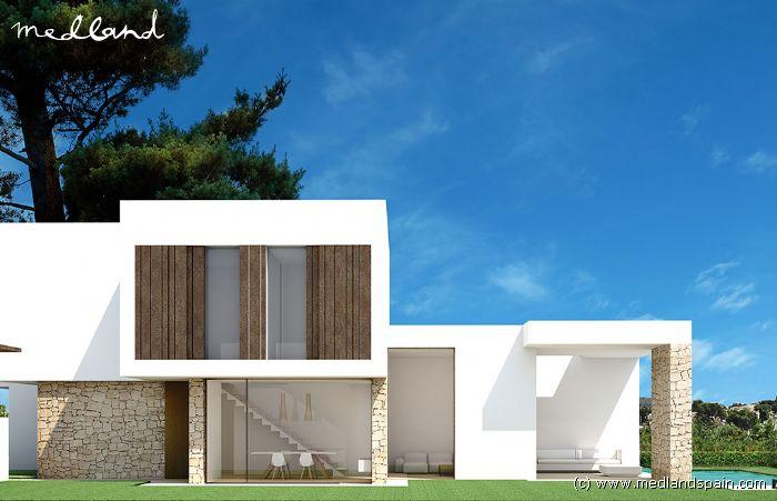 Luxe design villa in moraira - Villa de luxe minorque esteve estudio ...