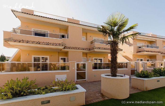 Таунхаус или апартаменты в испании
