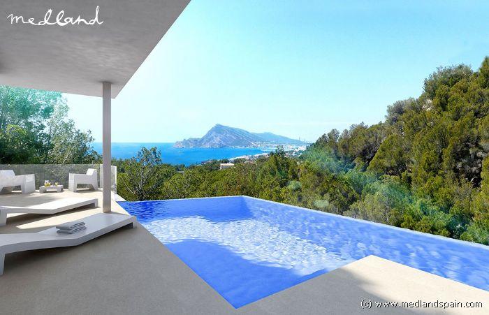 Luxe villa met zeezicht in altea hills