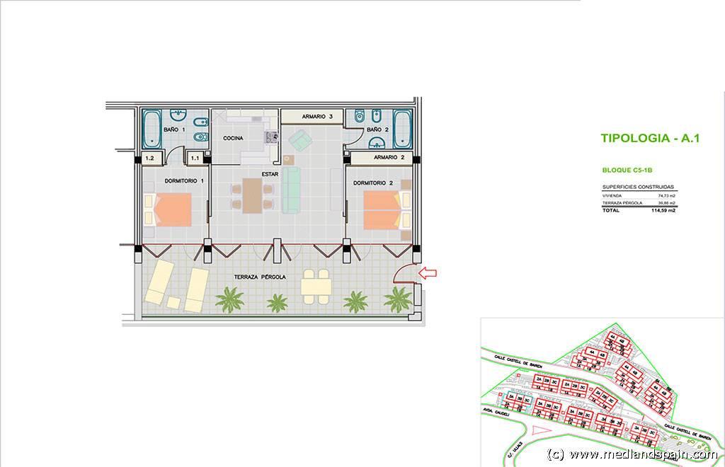 Medland volledige woning informatie - Plannen badkamer m ...